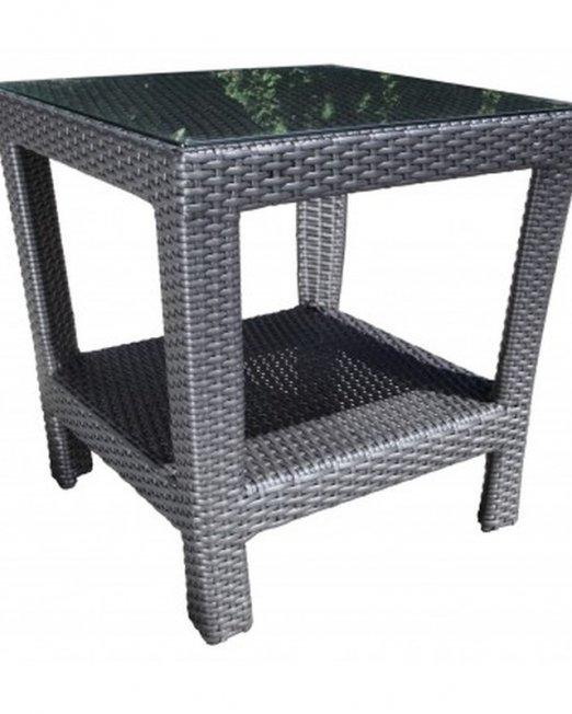 Bimini Wicker Side Table-0
