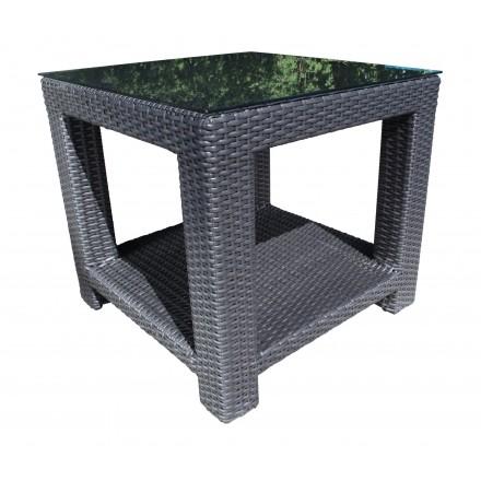 Chorus Wicker Side Table (Square)-0