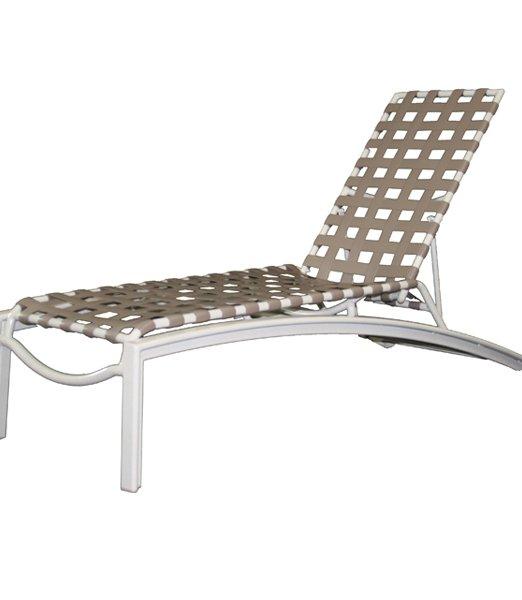 Euro Cross Strap Chaise Lounge-0