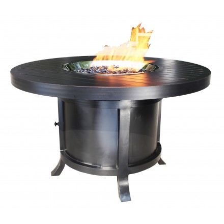Monaco Aluminum Deep Seating 50 inch Dining Firepit-0
