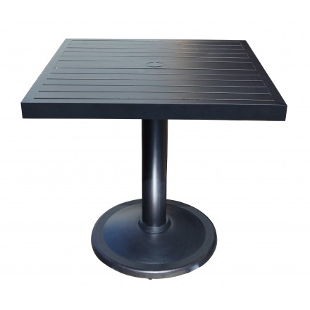 Delicieux Monaco Aluminum Deep Seating 32inch Square Pedestal Dining Table