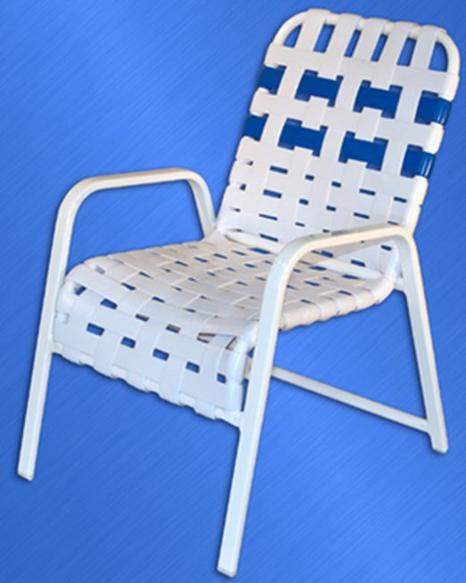 353 Classic Cross Strapped Chair-0