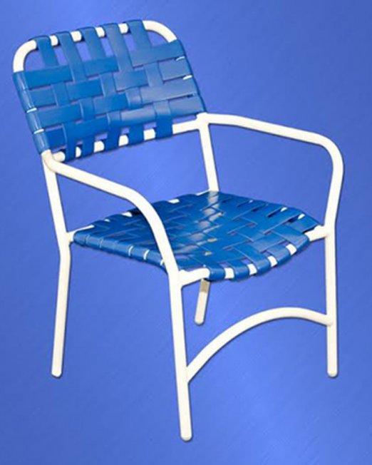 453 Classic Cross Strap Chair -0
