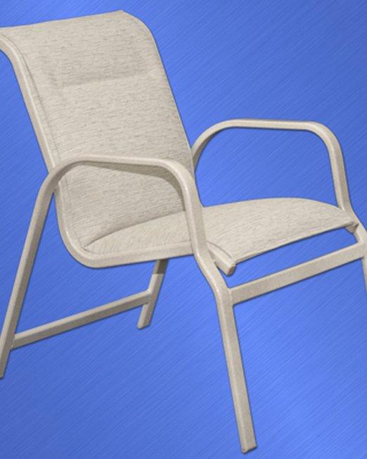 7751-PS Islander Padded Sling Dining Chair-0