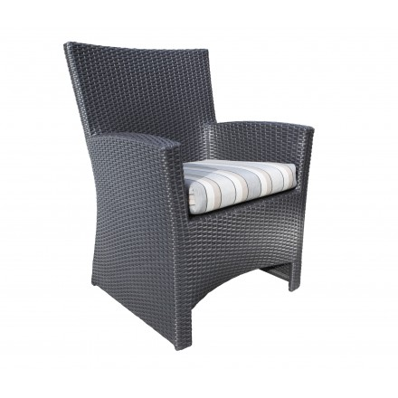 Bimini Wicker Deep Seating Dining Chair-0