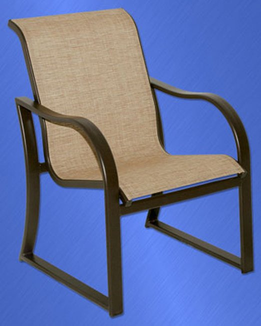 9955 Caribbean Sled Based Dining Chair -0