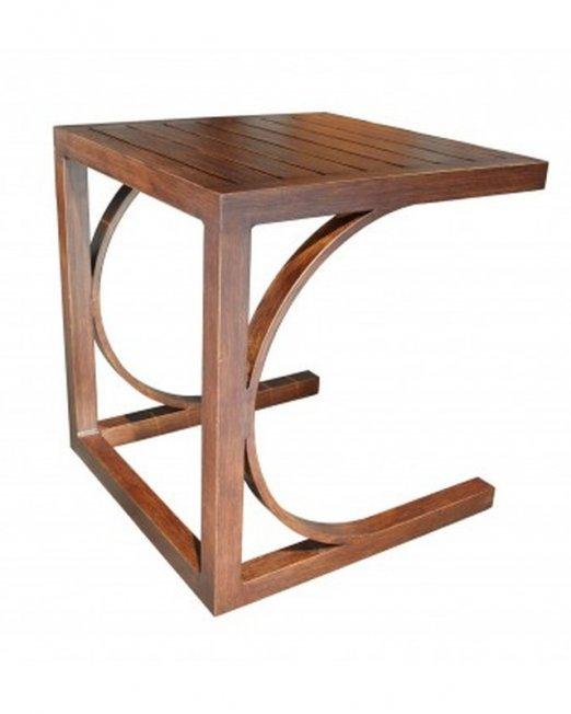 Apex Aluminum Deep Seating Side Table-0
