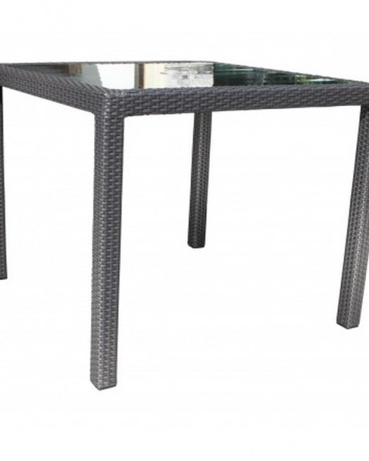 Chorus Wicker Deep Seating 36 inch Square Dining Table-0