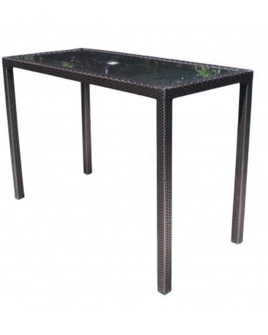 Chorus Wicker Deep Seating 62 inch Bar Table-0