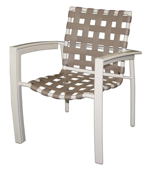 Euro Cross Strap Dining Chair-0