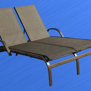 Tropicana Double Chaise Lounge