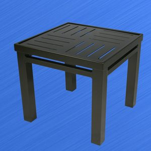 H1619x19B Hermosa Boardwalk Side Table