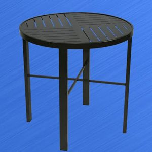H1629 Round Hermosa Boardwalk Dining Table