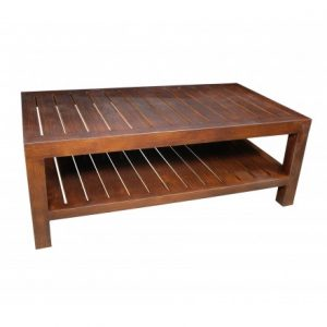 Mission Aluminum Deep Seating Coffee Table