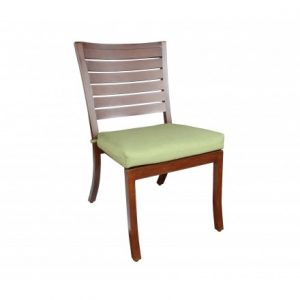 Mission Aluminum Deep Seating Dining Chair