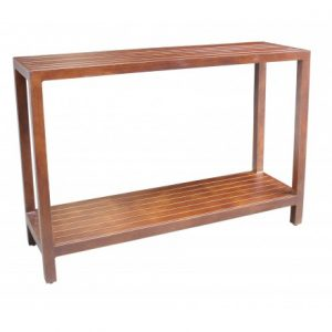 Monaco Aluminum Deep Seating Console Table