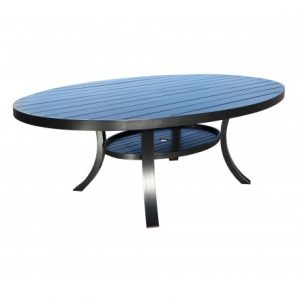 Monaco Aluminum Deep Seating 98 inch Dining Table