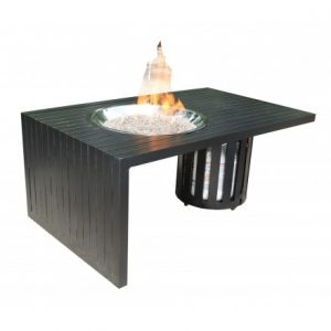 Monaco Aluminum Deep Seating 48 inch Firepit