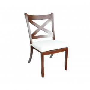 Elan Aluminum Deep Seating Dining Chair