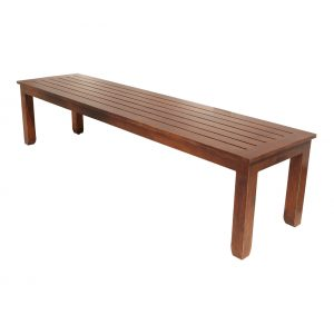 Mission Aluminum Deep Seating Bench
