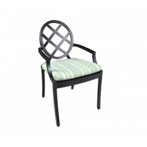 Newport Aluminum Deep Seating Dining ArmChair