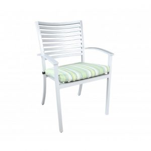 Still Aluminum Deep Seating Dining ArmChair