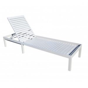 Still Aluminum Deep Seating Chaise Lounge