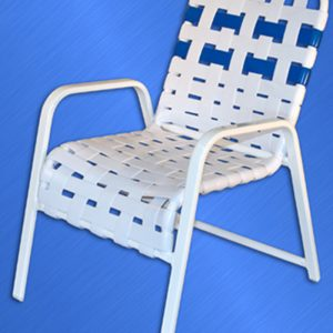 353 Classic Cross Strapped Chair