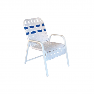 Rio Cross Strapped Chair