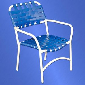 453 Classic Cross Strap Chair