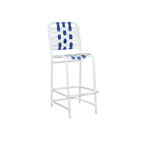 Belize Cross Strapped Bar Stool