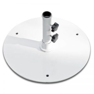 50S-WH 50 lb. White Umbrella Base