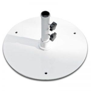 50S-WH 50 lb. White Umbrella Base