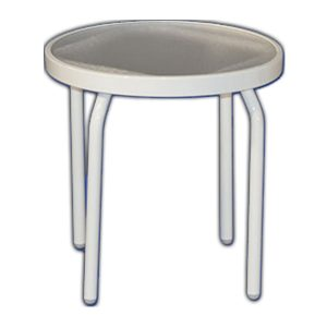 Acrylic 18 inch Side Table