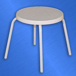 Fiberglass 18 inch Side Table
