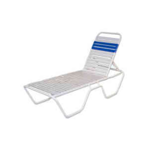 "Largo Strap 12"" High Chaise Lounge"