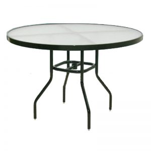 Acrylic Round Dining Table