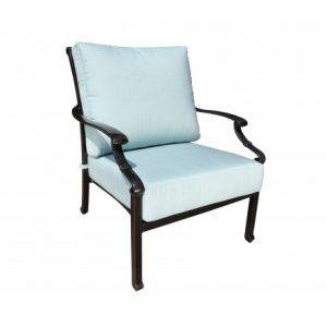 Verona Aluminum Deep Seating Lounge Chair