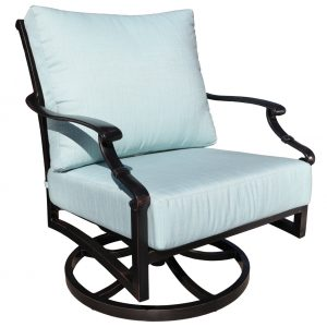 Verona Aluminum Deep Seating Spring Lounge Chair