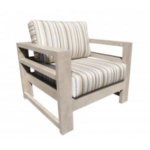 Aura Aluminum Deep Seating Lounge Chair