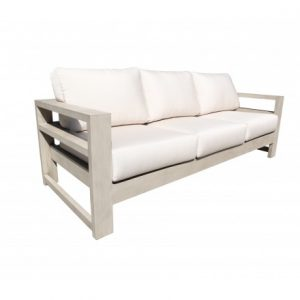 Aura Aluminum Deep Seating Sofa