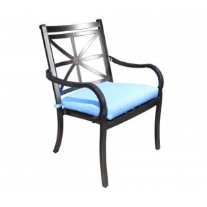 Rosedale Aluminum Deep Seating Dining ArmChair