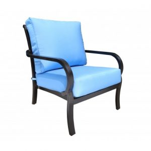 Rosedale Aluminum Deep Seating Lounge Chair