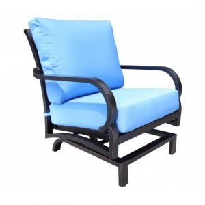 Rosedale Aluminum Deep Seating Spring Lounge Chair