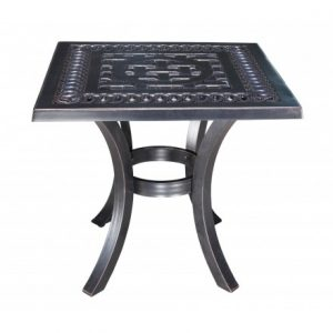 Pure Aluminum Deep Seating Square Side Table