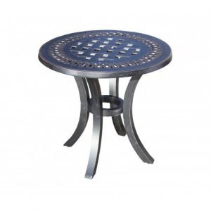Pure Aluminum Deep Seating Round Side Table
