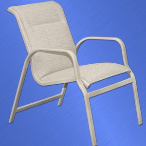 Islander Padded Sling Dining Chair