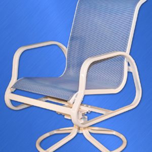 Islander Sling Dining Chair (Swivel)