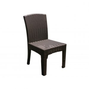 Bimini Wicker Side Dining Chair (Armless)