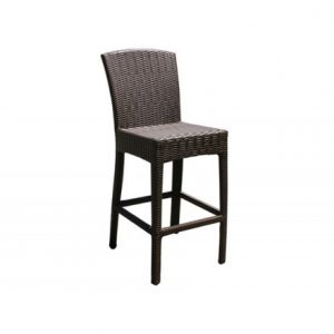 Bimini Wicker Barstool (36